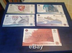 Lewis Billets Livres, Monnaie Locale Unc Toutes Les Notes 3e Émission