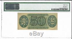 M1 Fr 1358 50c Fractionnel Monnaie Troisième Numéro Pmg 63 Ch Unc Livraison Gratuite