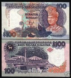 Malaisie 100 Ringgit 1992 P32a Mosquée Sultan Unc Rare Monde Monnaie Banknote