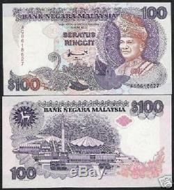 Malaisie 100 Ringgit P32 C 1998 Cerfs Unc Sultan Mosquée Nationale Monde Monnaie