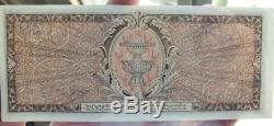 Memorial Billets Thaïlande Roi Rama VIII Siam Précieux Monnaie Rare Et Précieux