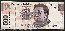 Mexique 500 Pesos P126 2010 Rivera Enfant Dans Le Bras Unc Latino Monnaie De Billets De Banque