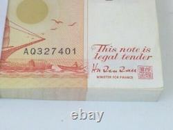 Millésime! 96 Pcs. Bundle Singapore $2 Sailboat Ship Unc Currency Money Banknote