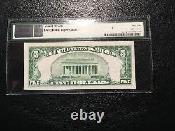 Monnaie Nationale Laporte Pa Pmg 64 Unc Epq Super Blanc Et Lumineux