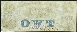 Monnaie Obsolète Greensborough, Ga- Bank Of Greensborough 2 Mai 18, 1858 Unc