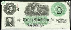 Monnaie Obsolète Hudson, Wi Trésorier, Ville De Hudson 5 $ Rester Sont Crisp Unc