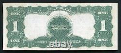 Père. 235 1899 $ 1 Dollar Black Eagle Certificat D'argent Note De Devise Gem Unc