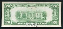 Père. 2402 1928 20 $ Certificat D'or De 20 Dollars Note De Devise À Propos De Unc