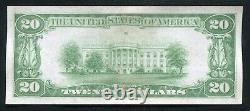 Père. 2402 1928 20 $ Certificat D'or De 20 Dollars Note De Devise À Propos De Unc (c)