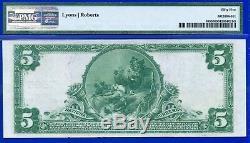 Rare 1902 $ 5 Monnaie Nationale Pmg About-unc 55 (worcester) # 420178