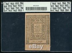 Ri-301 Mai 1786 3p Trois Livres De Monnaie Coloniale De Rhode Island Pcgs Unc-64
