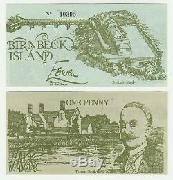 Royaume-uni Bretagne Birnbeck Île 1d 1 1970 Penny Unc Devise Locale Banknote