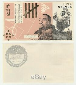 Royaume-uni Londres Walthamstow Hoe Rue Bank Job 5 Unc Devise Locale Banknote Set 4 Pc