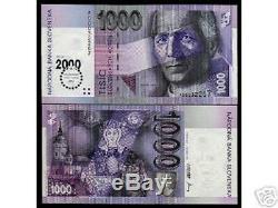 Slovaquie 1000 Korun P39 2000 Commémorative Madonna Unc Euro Rare Remarque Monnaie