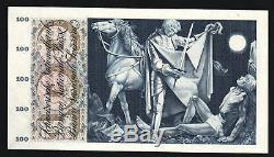 Suisse 100 Francs P49 1967 Cheval Agneau Unc Rare Monnaie Argent Bill Banknote
