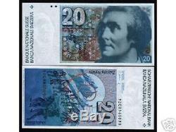 Suisse 20 Francs P55 1992 Montagne Unc Billets De Banque Billets De Banque En Devises Suisses