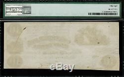 T-28 Pf-10 10 $ 1861 Confédéré Csa Monnaie Graded Pmg 58 Choix À Propos Unc