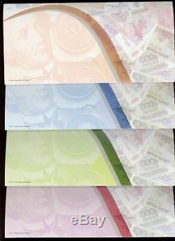 Transnistrie 2014 Set 1 + 5 + 10 + 25 Roubles 20 Ans De Sélection Devise Nouveau Livret Unc