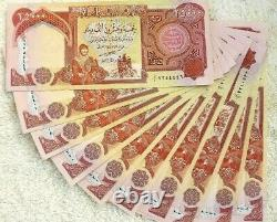 Unc 10 X 25000 Nouvel Irak 2003 Dinar Billets De Banque 250000 Iqd Monnaie Vérifiée