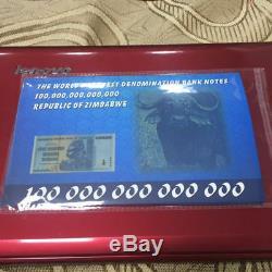 Zimbabwe: 100 Billions De Dollars, Série Aa / 2008, Nouveau P-91, Monnaie De Billet, Unc